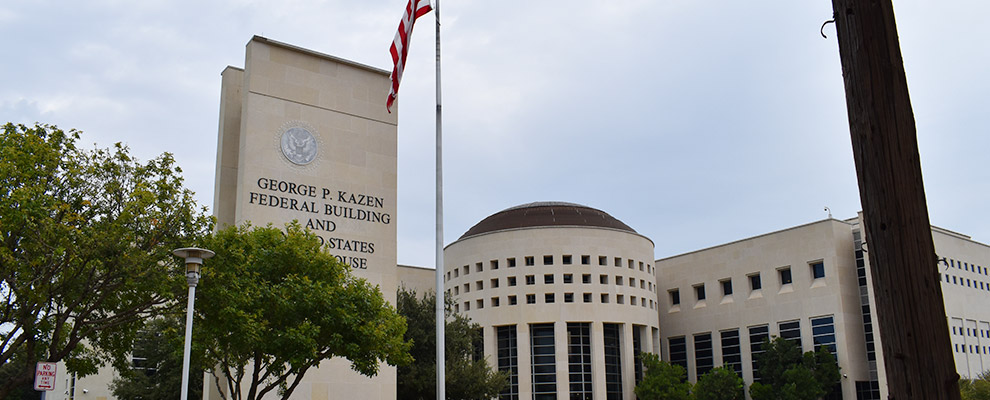 Federal Courthouse in Laredo